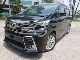 New Toyota Vellfire ZG Full Spec
