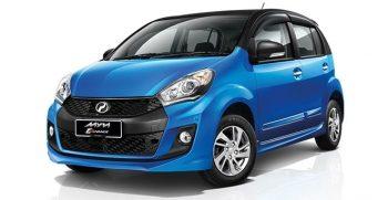 Perodua , Myvi 1.5 (A) or similar