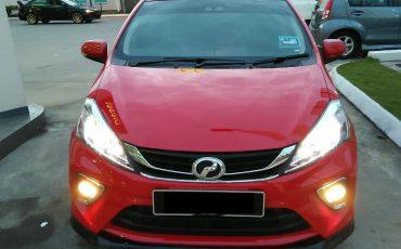 New Perodua Myvi 1.5 (A) or Similar