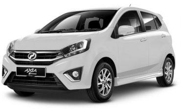 Perodua , Axia 1.0 (A) or similar